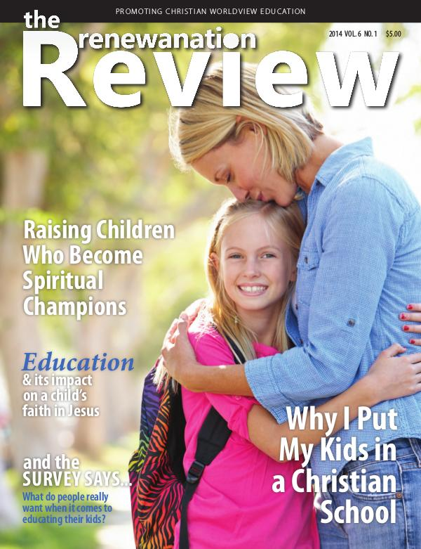 The Renewanation Review 2014 Volume 6 Issue 1