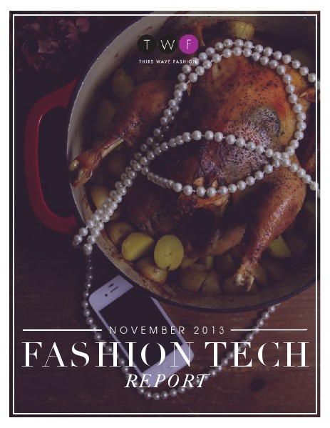 Third Wave Fashion // NOVEMBER 2013 // FOOD, FASHION + FEASTING