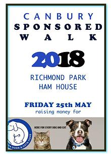 2018 Canbury Sponsored Walk