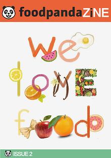 foodpanda ZINE | 2nd issue | Sept 2014