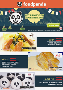 foodpanda monthly e-deal brochure