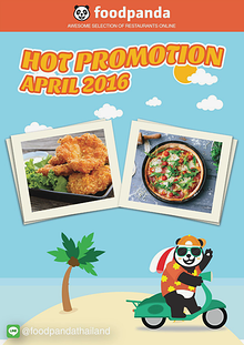 foodpanda Monthly e-deal brochure April 2016