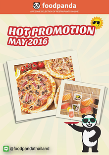 foodpanda Monthly e-deal brochure May2016