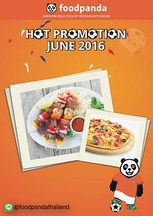 foodpanda Monthly e-deal brochure June2016
