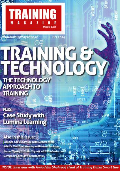 Training Magazine Middle East October 2014