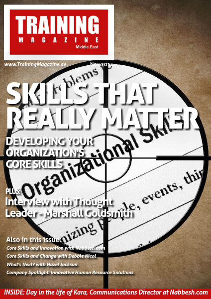 Training Magazine Middle East November 2014