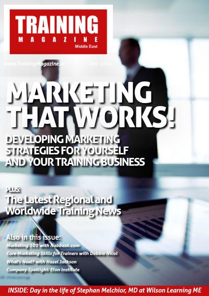 Training Magazine Middle East December 2014