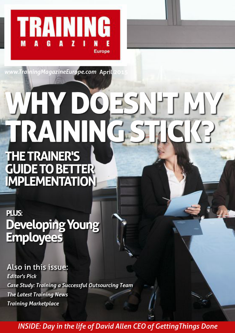 Training Magazine Europe April 2015