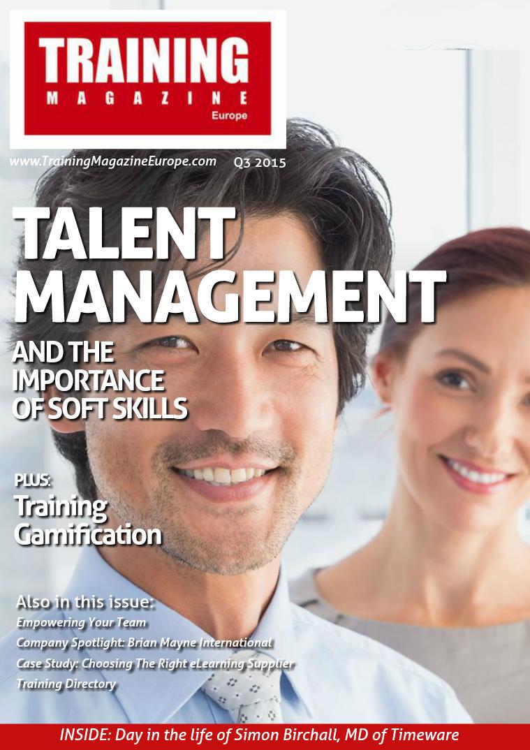 Training Magazine Europe Q3 2015