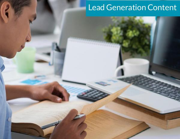 Marketing Planning for Success Lead Generation Content