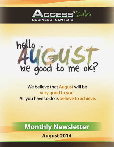 Access Business Centers Magazine August 2014