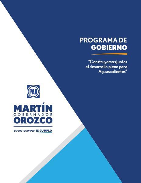 Plan Martín Orozco 2016