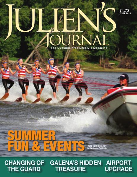 Julien's Journal June 2016 (Volume 41, Number 6)