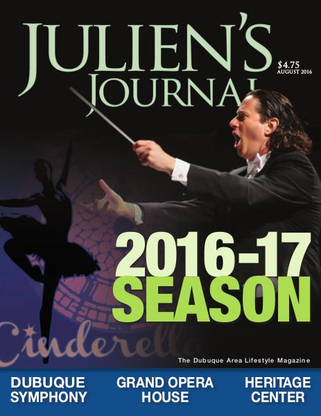 Julien's Journal August 2016 (Volume 41, Number 8)