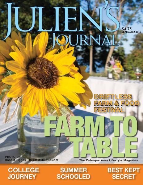 Julien's Journal September 2016 (Volume 41, Number 9)