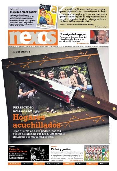 Revista Nexos Julio 2014