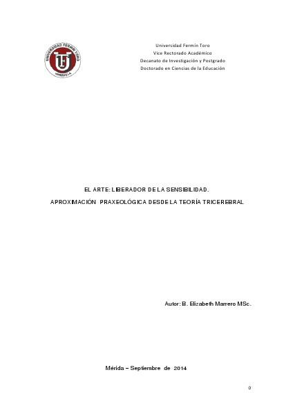 APROXIMACIÓN A UN MODELO TEÓRICO: ENSEÑANZA DE CONTABILIDAD Y TIC EN EL ARTE: LIBERADOR DE LA SENSIBILIDAD.  APROXIMACI