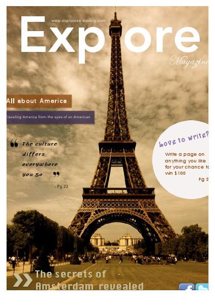 Explore Magazine Volume 1