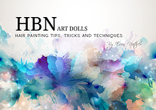 HBN Art Dolls Hair Painting Techniques, Tricks & Tips