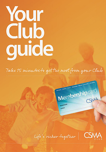 CSMA Club Membership Brochure - 2014