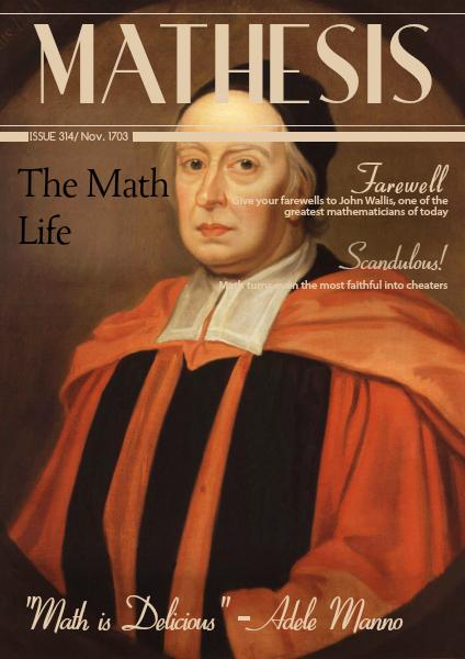 Mathesis Nov. 1703