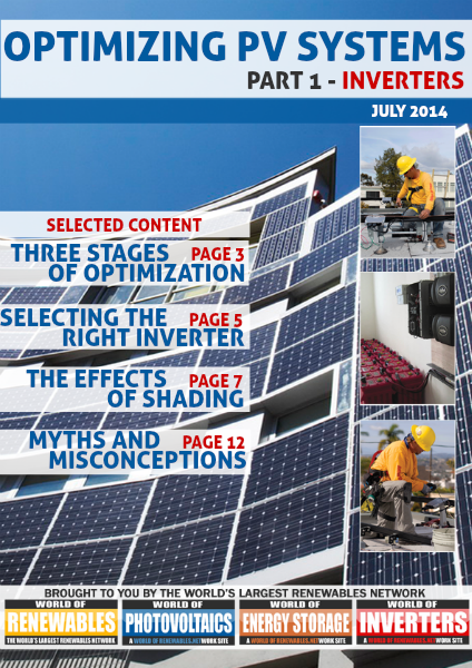 Optimizing PV Systems July 2014 - Part 1: Inverters