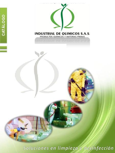 Catálogo Productos Industrial de Químicos S.A.S Volumen 1, edición 1