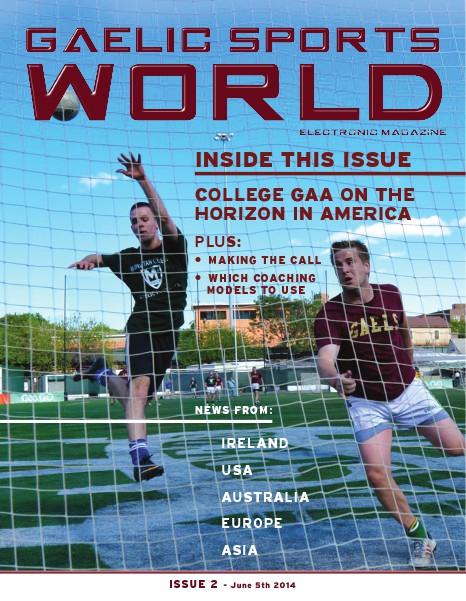 GAELIC SPORTS WORLD Issue 2 Sample Test, June 5, 2014