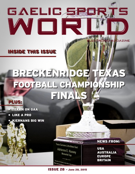 Issue 28 – June 20, 2015