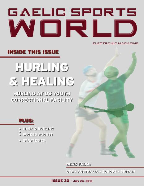 Issue 30 – July 24, 2015