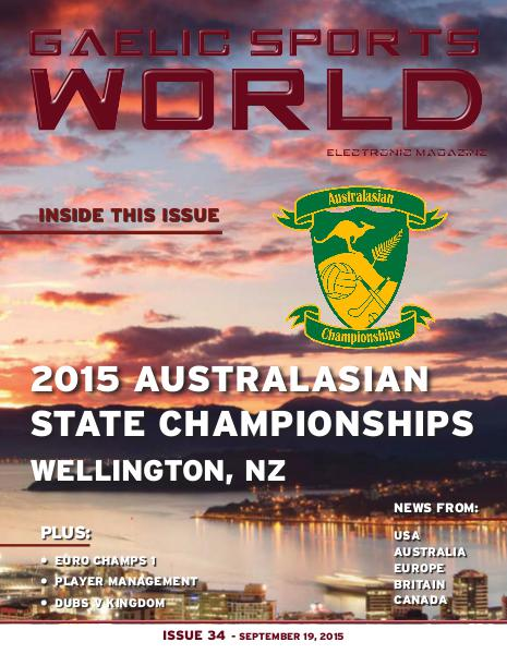 Issue 34 – September 19, 2015