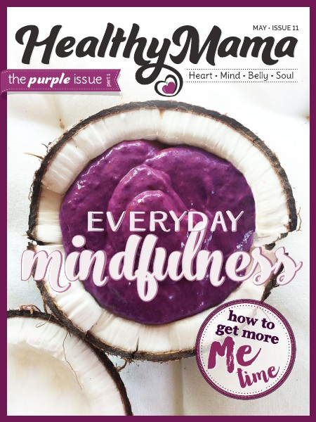Healthy Mama Magazine Purple Issue - May 2015