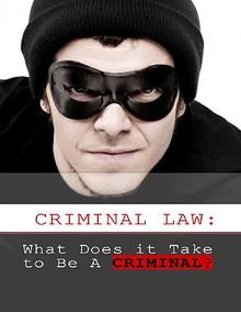 Criminal Law What Does it Take to Be A Criminal.pdf