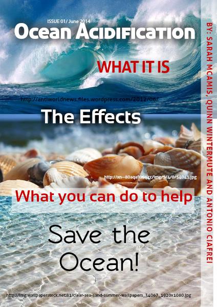Ocean Acidification Ocean Acidification