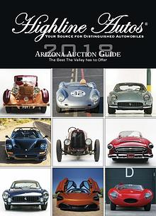 Highline Autos 2018 Arizona Auction Guide