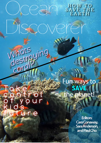 Coral Reef Destruction Magazine June 2014