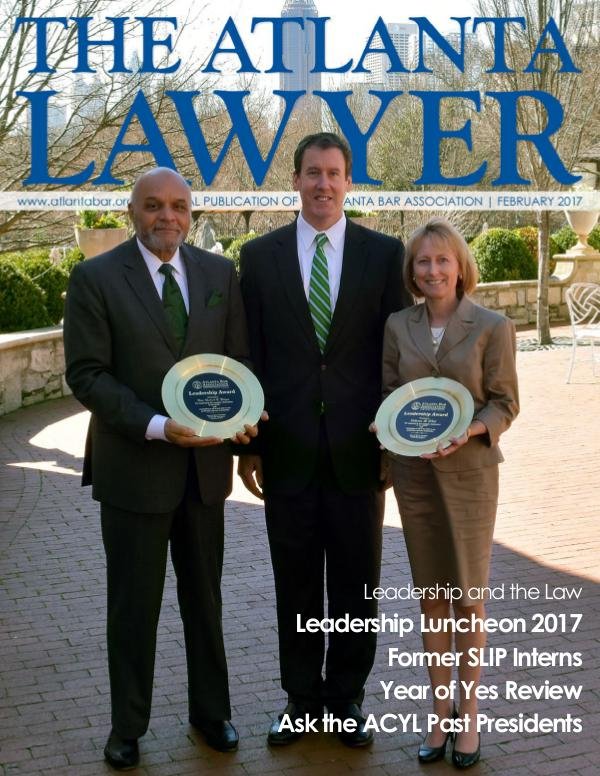 The Atlanta Lawyer February 2017
