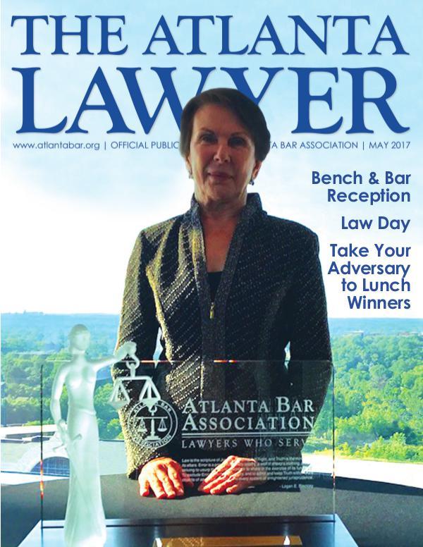 The Atlanta Lawyer May 2017