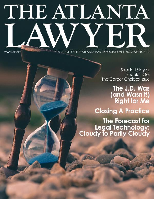 The Atlanta Lawyer November 2017