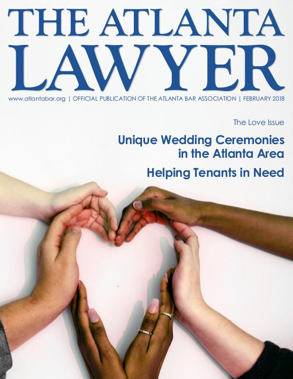 The Atlanta Lawyer February 2018