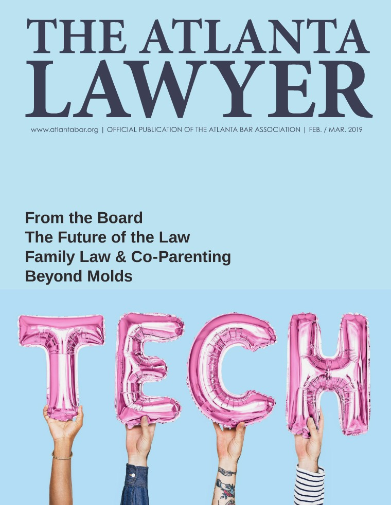 The Atlanta Lawyer February / March 2019