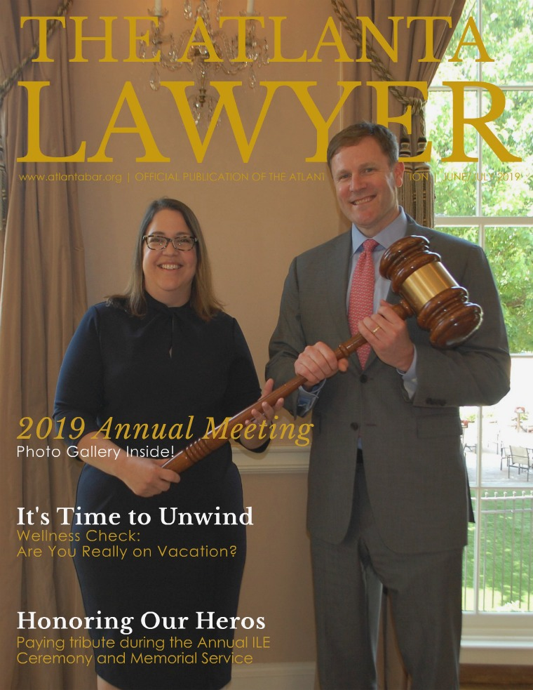The Atlanta Lawyer June/July 2019