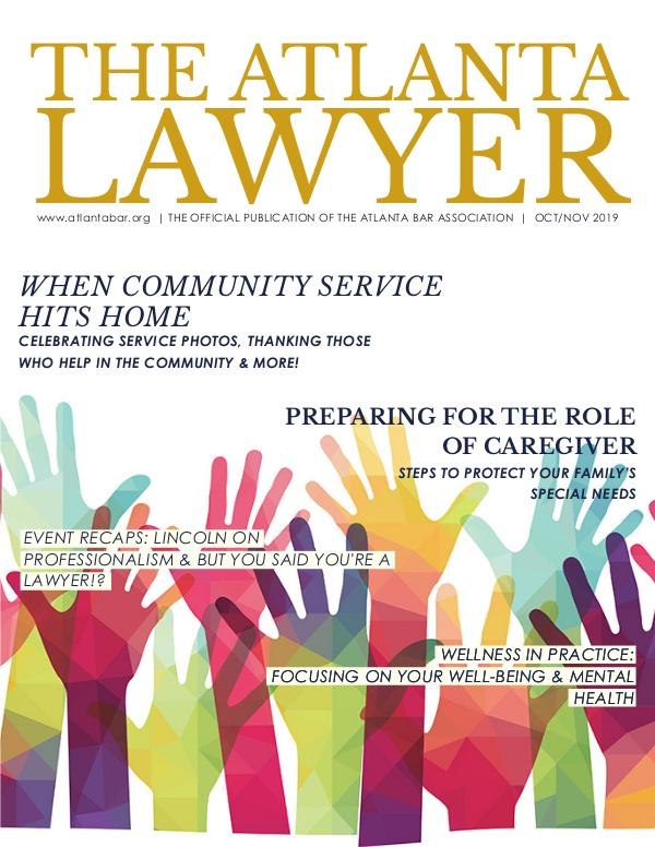 The Atlanta Lawyer October/November 2019
