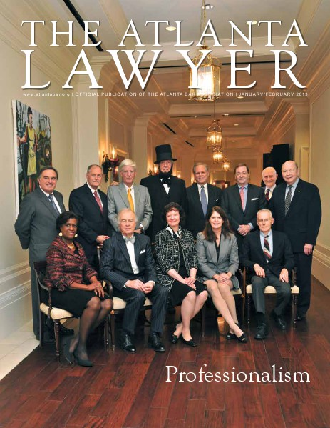 The Atlanta Lawyer January/February 2013