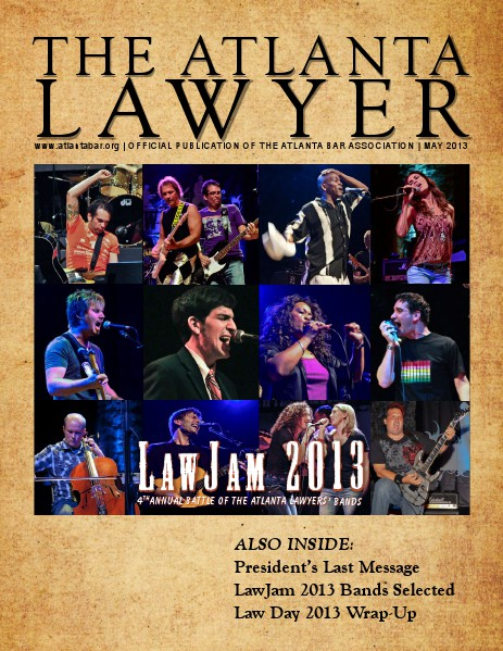 The Atlanta Lawyer May 2013