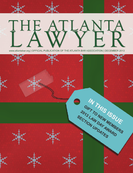 The Atlanta Lawyer December 2013