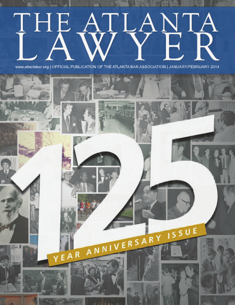 The Atlanta Lawyer January/February 2014