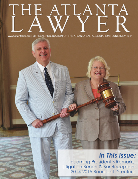 The Atlanta Lawyer June/July 2014