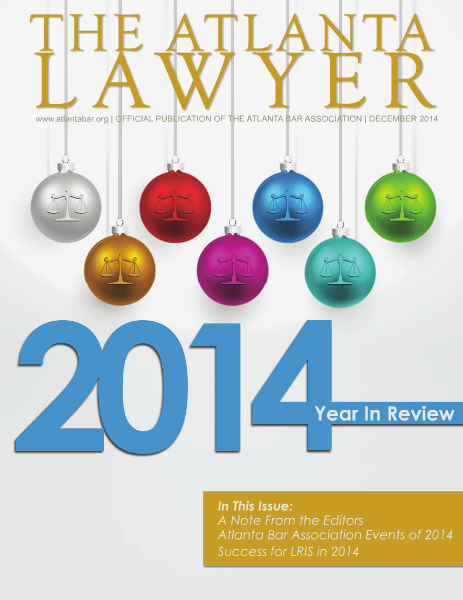 The Atlanta Lawyer December 2014
