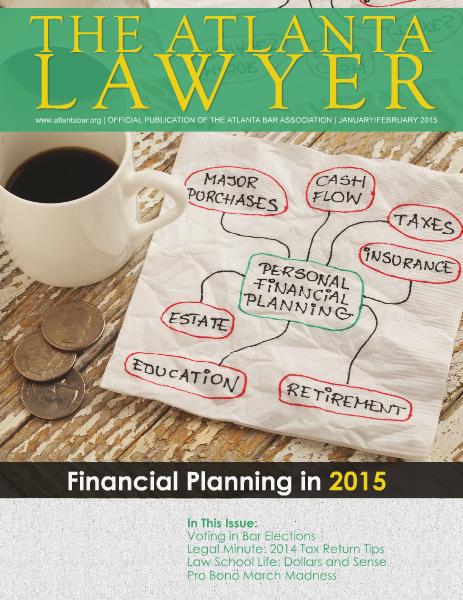 The Atlanta Lawyer January/February 2015